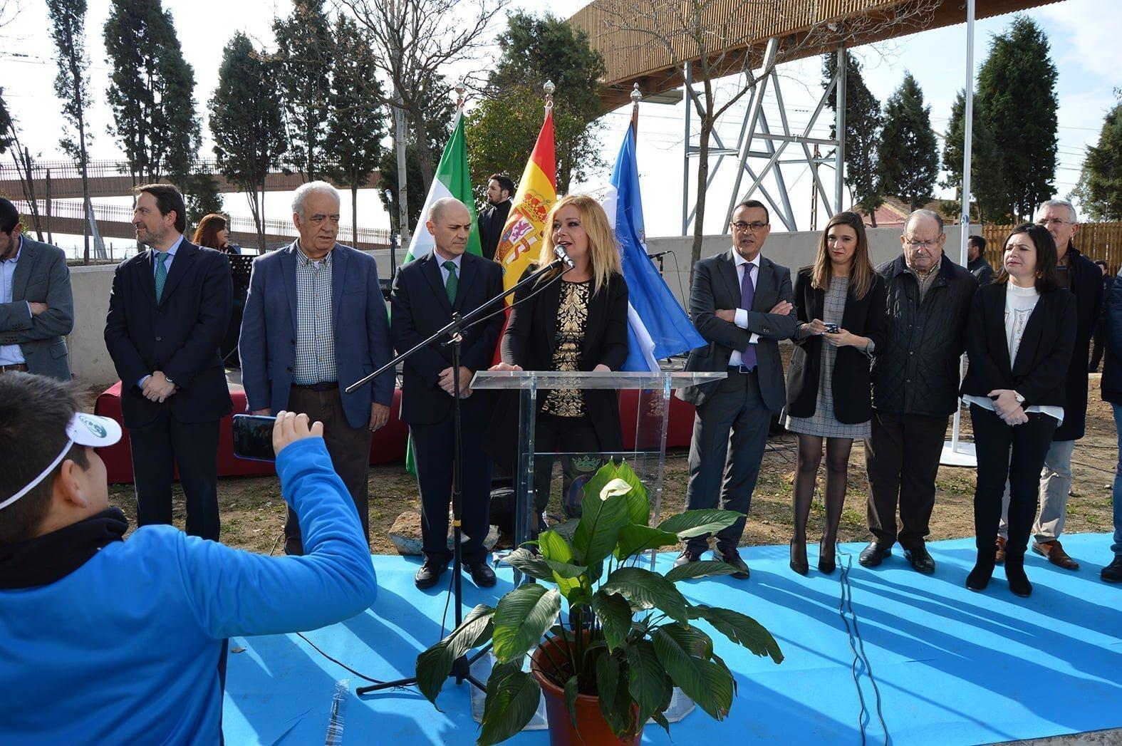 Intervención de la alcaldesa de San Juan en el acto de inauguración