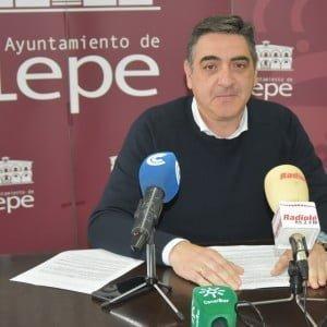 Jesús Toronjo, teniente de alcalde del Ayuntamiento de Lepe